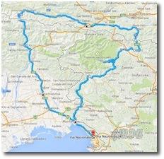Clicca per vedere il percorso su Google maps
